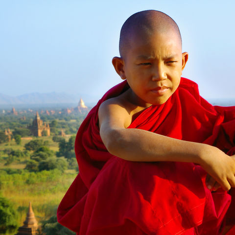 Junger Mönch © Thinkstock, iStockphoto