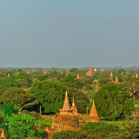 Das historische Pagodenfeld von Bagan, Myanmar