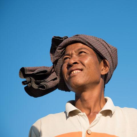 Burmesischer Bauer, Myanmar