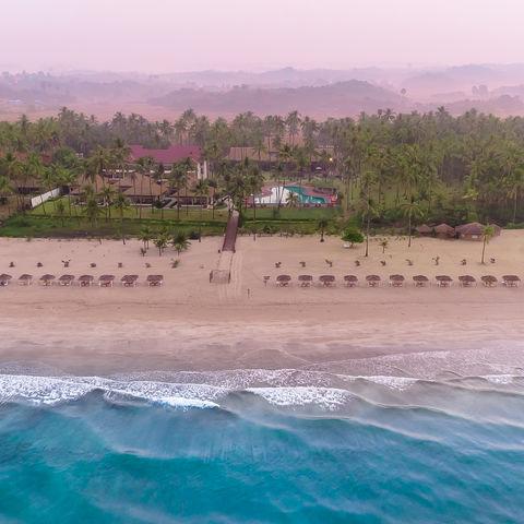 Der Strand und das Resort, Myanmar