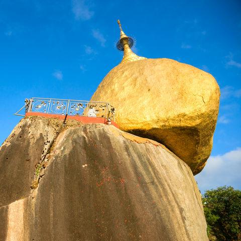Der Goldene Felsen, Myanmar