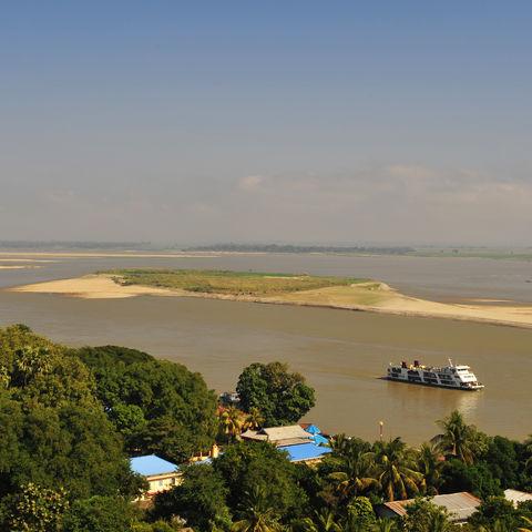 Der mächtige Irrawaddy, Myanmar