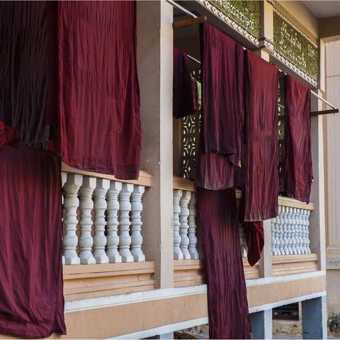 Waschtag im Kloster, Myanmar