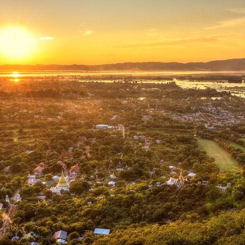 Panorama-Blick über Mandalay