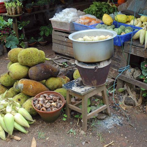 Ländlicher Markt, Myanmar
