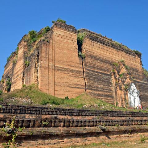 Die beeindruckende Mingun-Pagode, Myanmar