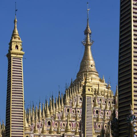 Thanbodday Pagode, Myanmar