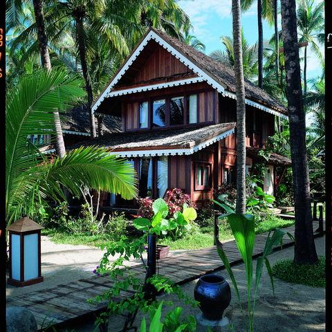 Außenanlage des Sandoway Resorts, Myanmar