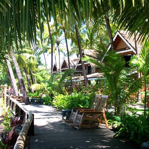 Bungalows im Sandoway Resort