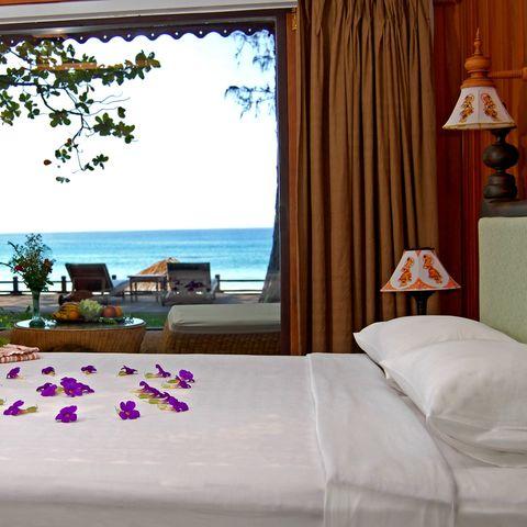 Deluxe Seeblick Zimmer im Thande Beach Hotel, Myanmar