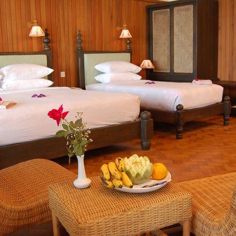 Deluxe Zimmer im Thande Beach Hotel, Myanmar