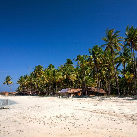 Strand in Ngwe Saung