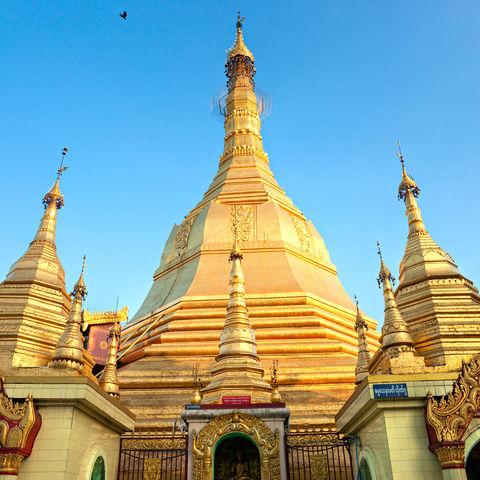 Sule Pagode in Yangon, Myanmar