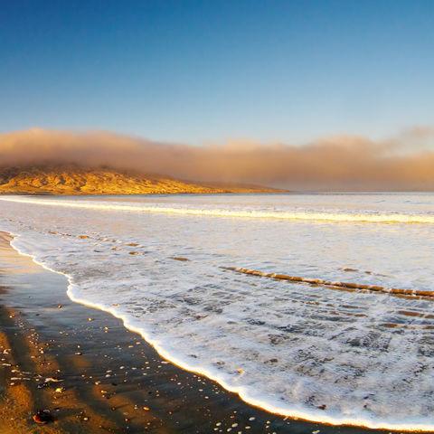 Strand in Lüderitz, Namibia