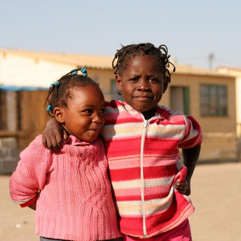 Einheimische Kinder, Namibia