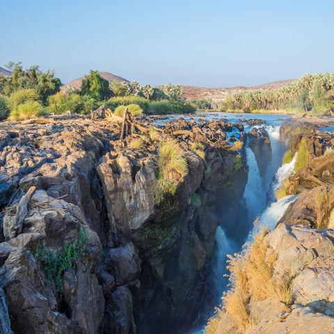 Epupafälle in der Nähe von Fransfonteinberge, Namibia