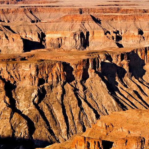 Gigantischer Fish River Canyon, Namibia