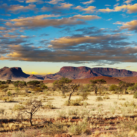 Weite Kalahari Wüste, Namibia
