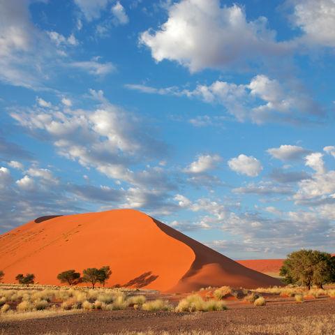 Die einzigartige Wüstenlandschaft des Sossusvlei, Namibia