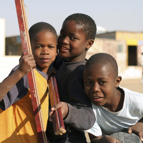 Namibische Kinder, Namibia