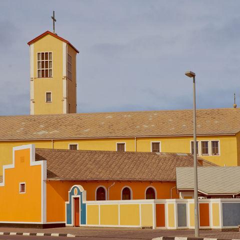 Die katholische Kirche von Swakopmund, Namibia