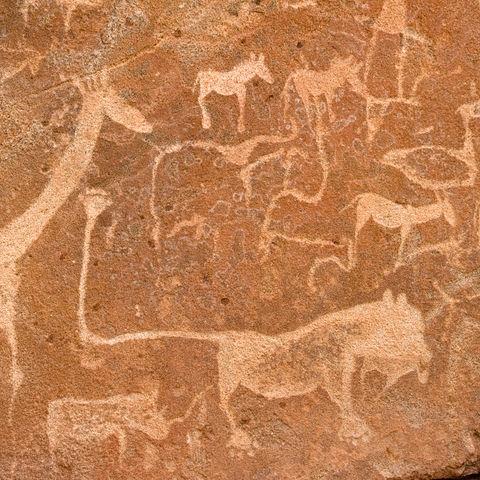 Prähistorische Felsbilder, Namibia