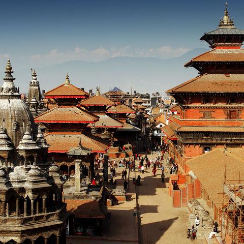 Der Durbar Square in Kathmandu, Nepal
