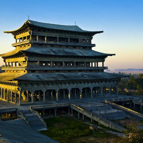 Koreanischer buddhistischer Tempel, Nepal