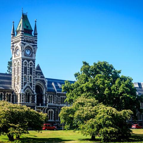 Die älteste Universität Neuseelands: University of Otago, Dunedin, Neuseeland