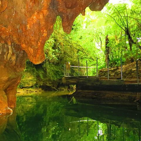 Vielleicht finden sich hier Glühwürmchen?, Höhlensystem, Neuseeland