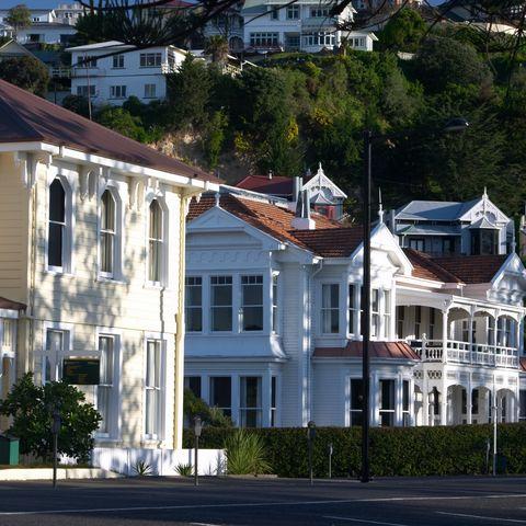 Art-Deco-Stadt Napier, Neuseeland