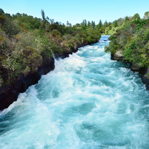 Huka Falls bei Taupo, Neuseeland
