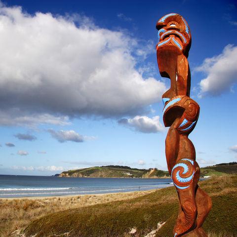 Raue Küstenlandschaft, Neuseeland
