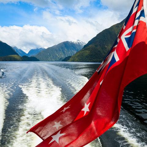 Neuseeländische Flagge, Neuseeland