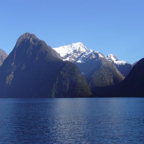 Atemberaubender Milford Sound, Neuseeland