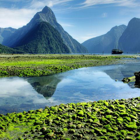 Der wunderschöne Milford Sound, Neuseeland