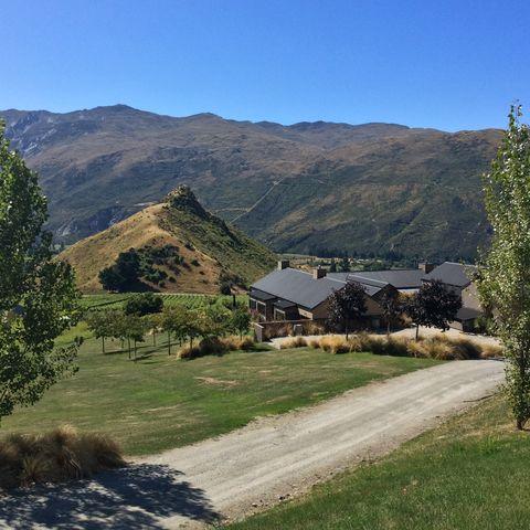 Die Mt. Rosa Lodge in Queenstown, Neuseeland