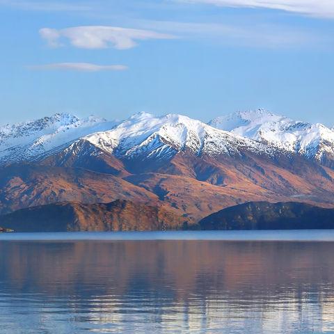 Panorama des Wanaka-Sees, Neuseeland