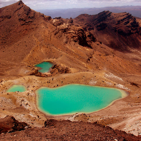 Tongariro Alpine Crossing, Neuseeland