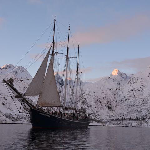 Die Rembrandt van Rijn im Norden Norwegens, Norwegen