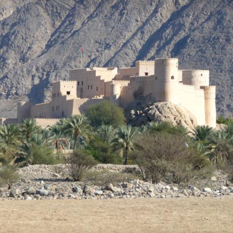 Festung von Nakhal in der Al Batinah Region, Oman