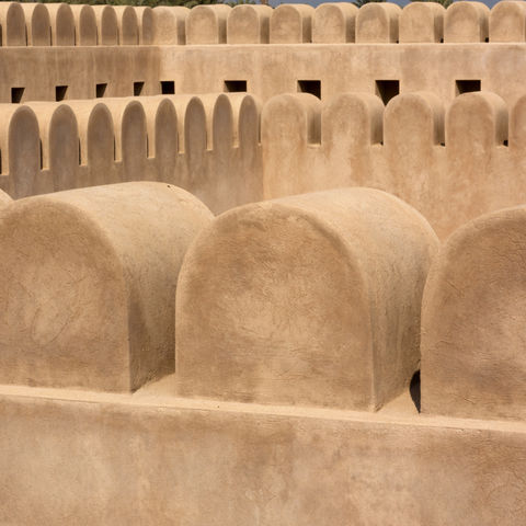 Festung in Khasab, Oman