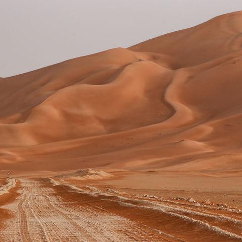Rub Al Khali Wüste, Oman