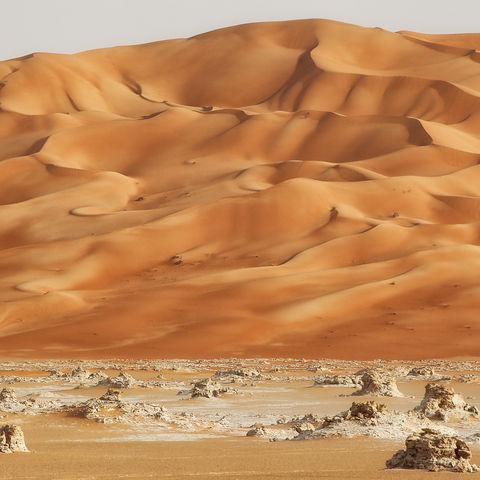 Wüsteneinöde der Rub al Khali, Oman