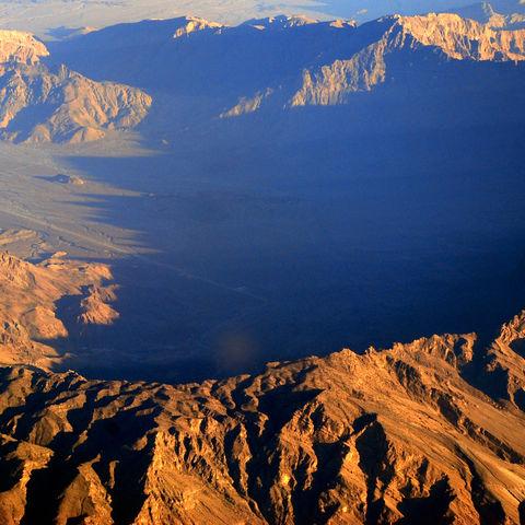Shams Gebirge in der Nähe von Muscat, Oman