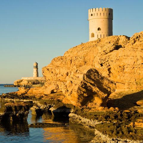 Uhrenturm in Sur, Oman