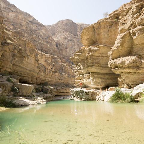 Orientalischer Grand Canyon: Wadi Shab, Oman