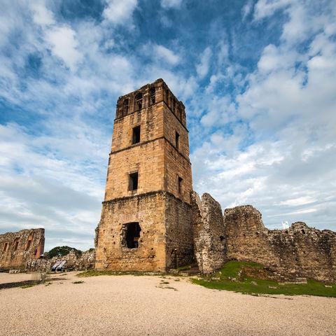 Überreste der ältesten spanischen Siedlung am Pazifik: Panamá la Vieja, Panama