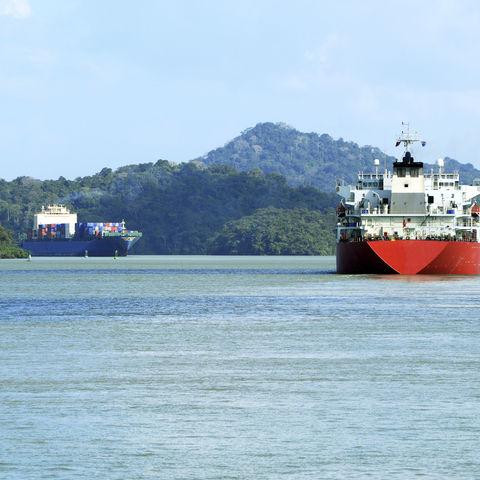 Schifffahrt im Panamakanal, Panama