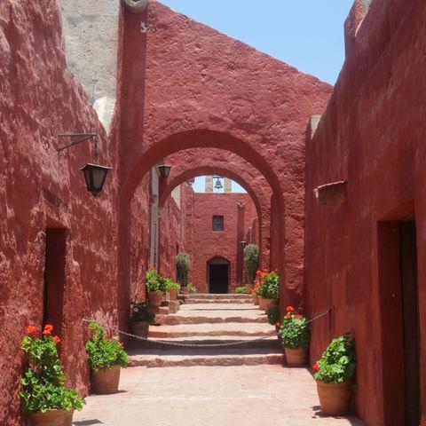 Historisches Kloster Santa Catalina, Peru